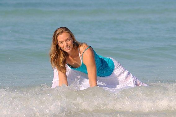 Emily Seymour yoga experience