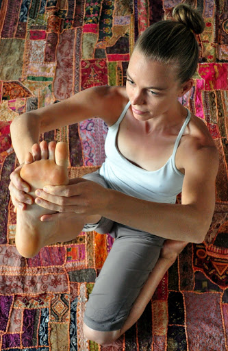 Emily Seymour Yoga Feet