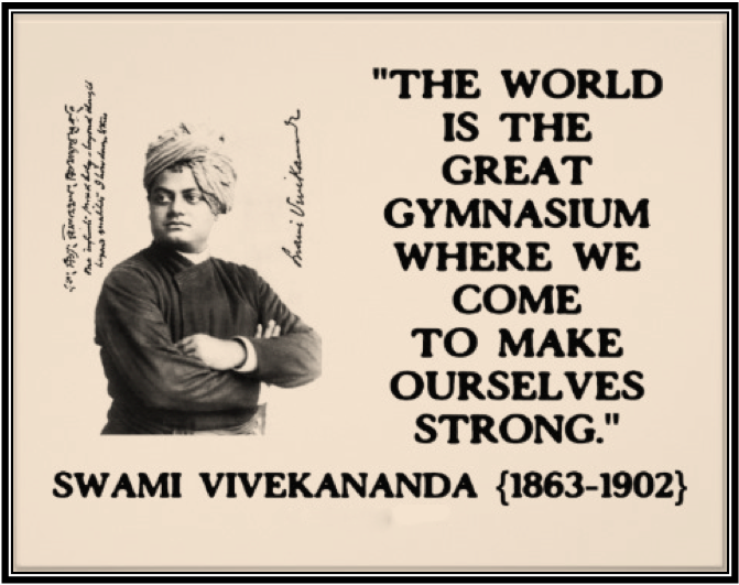 Swami Vivekananda Mind Body Parkour