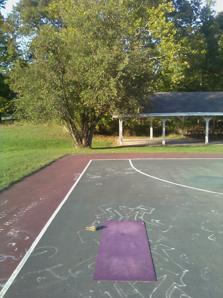 Yoga mat park