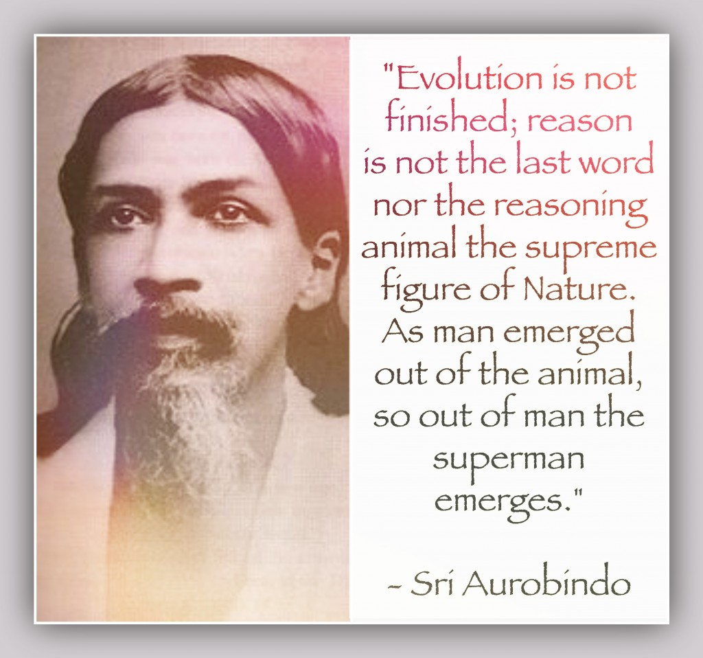 Sri Aurobindo Superman Evolution