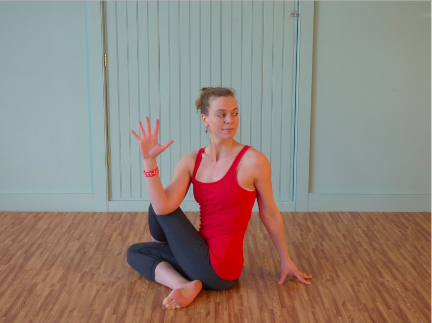 Emily Seymour Yoga Twist
