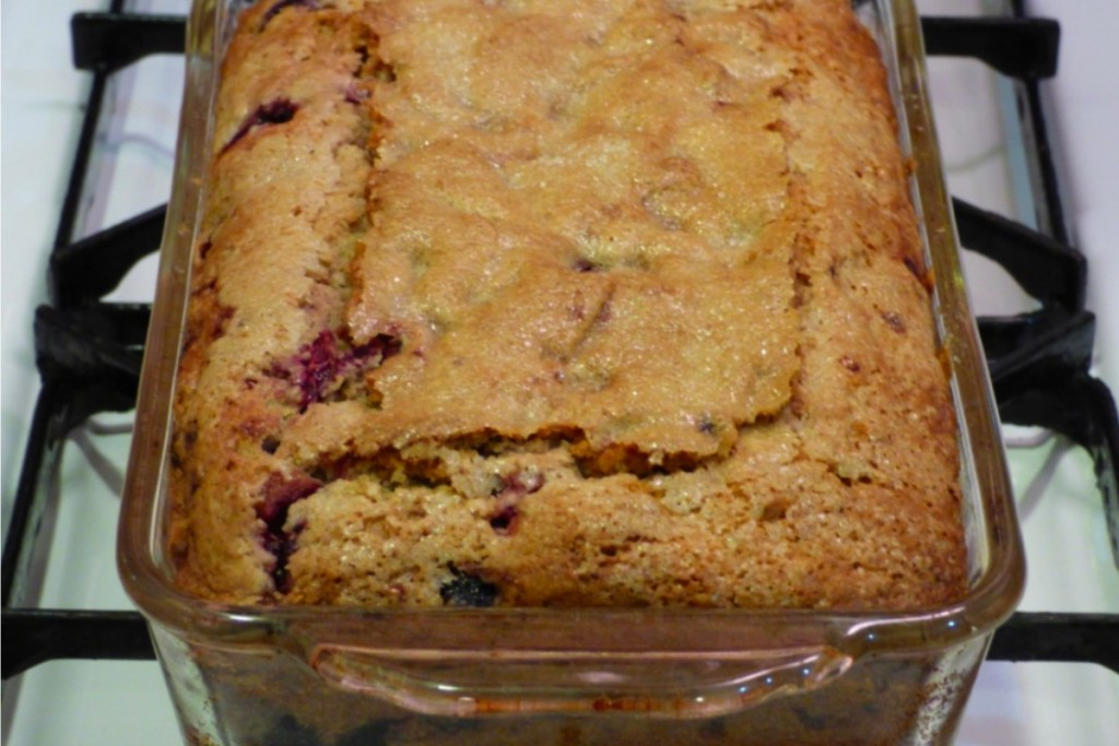 Berry Walnut Muffin Bread 1