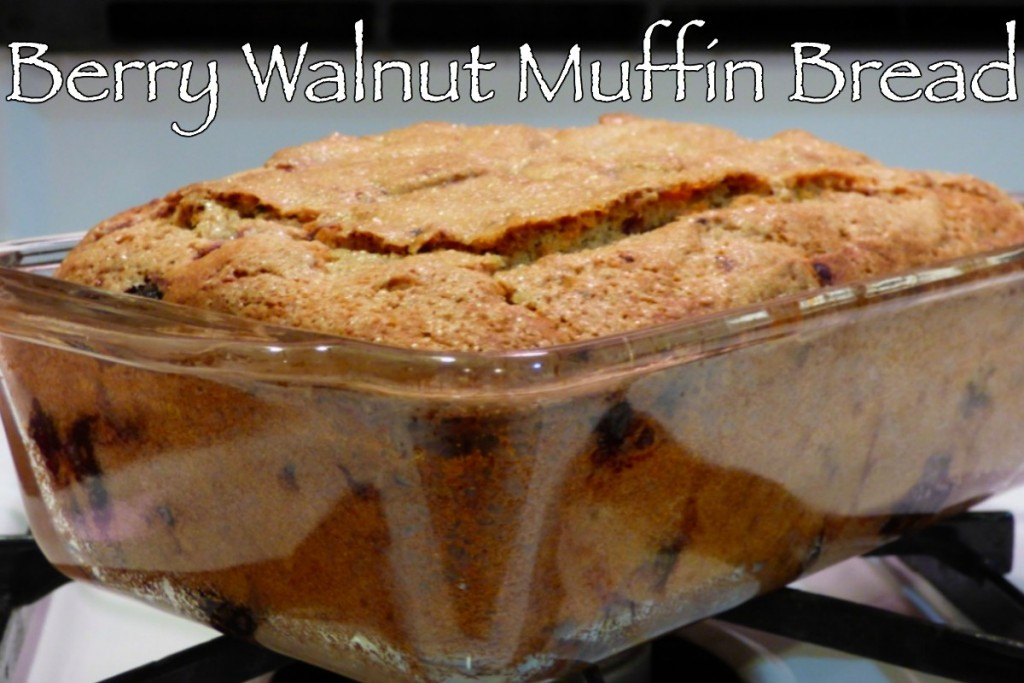 Berry Walnut Muffin Bread 2
