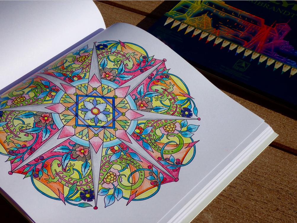 Practice Alone Mandala