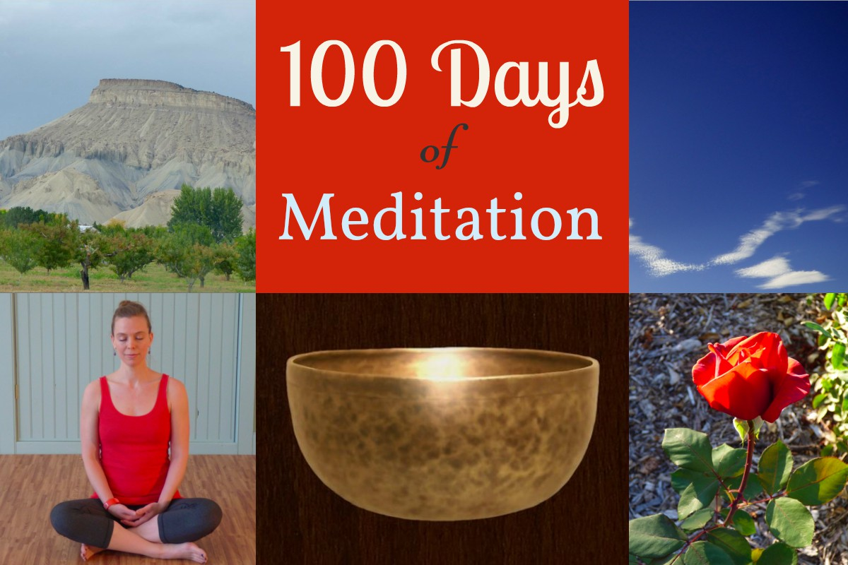 100 Days of Meditation