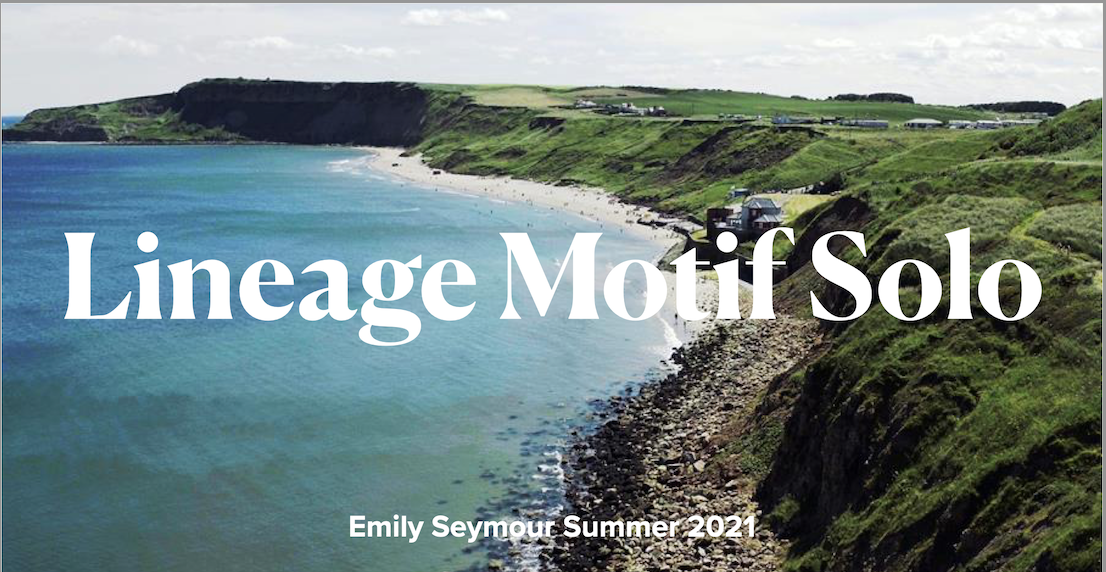 Lineage Motif and Development – By Emily Seymour